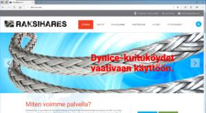 Raksihares websivu